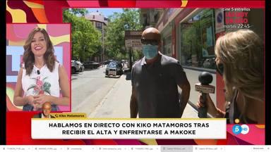 El nuevo aspecto físico de Kiko Matamoros después de estar ingresado