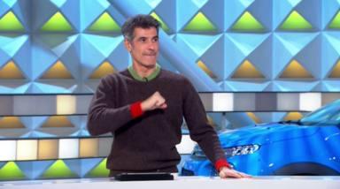 Jorge Fernández bromea con una concursante de 'La ruleta de la suerte' tras un error mayúsculo