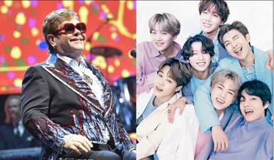 Elton John prueba con el K-pop y se cuela en el fandom de BTS