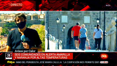 La rajada histórica de un reportero de TVE que ha sido aplaudida en las redes