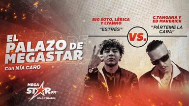 'Estrés' de Big Soto, Lérica y Lyanno repiten como El Palazo de MegaStar y les toca enfrentarse a C.Tangana