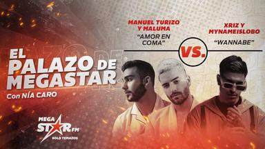 'Amor en Coma' de Manuel Turizo y Maluma repite en el trono de El Palazo de MegaStar con una nueva batalla