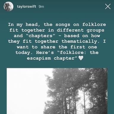 Taylor Swift hace historia con Folklore: primer disco en ser el número uno durante seis semanas