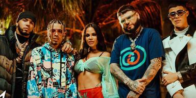 Rauw Alejandro estrena el remix de Fantasías junto a Natti Natasha, Anuel AA y Lunay