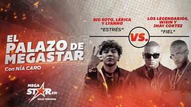 Big Soto, Lérica y Lyanno se consolidan en el trono y repiten como El Palazo de MegaStar con 'Estrés'