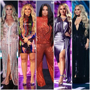 Looks de Demi Lovato en los Peoples Choice Awards