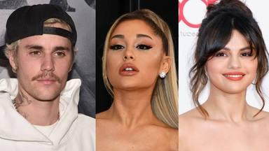 Ariana Grande, Selena Gómez y Justin Bieber, entre las cuentas con más seguidores en Instagram