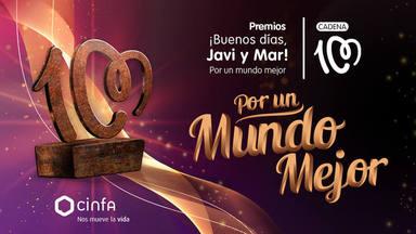 No te pierdas la gala de entrega de los premios ¡Buenos días, Javi y Mar! Por un mundo mejor de Cadena 100