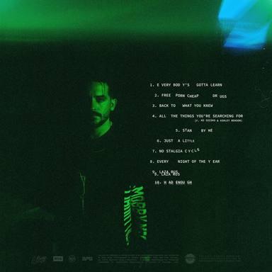 "G-Eazy y su nuevo álbum ""Everything's Strange Here"""