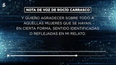 Rocío Carrasco audio