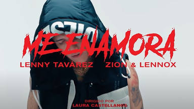 """""""Me Enamora"""" es el nuevo single que forma parte de """"Krack Season 3"""" de Lenny Tavárez junto con Zion & Lennox"""