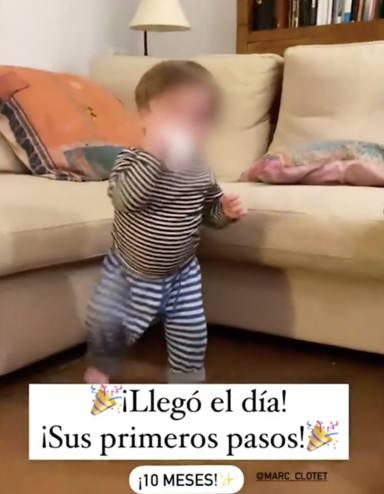 Natalia Sánchez hijo