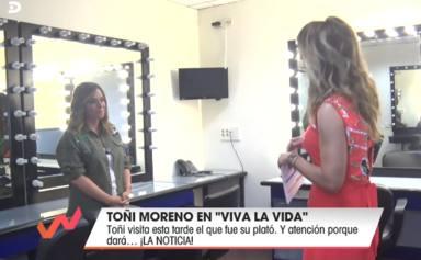 Toñi Moreno rompe su silencio tras las palabras de Emma García sobre su vuelta a 'Viva la vida'