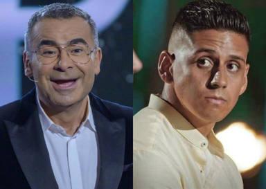 Jorge Javier Vázquez le gasta esta broma a Christofer nada más pisar el plató de 'Supervivientes'