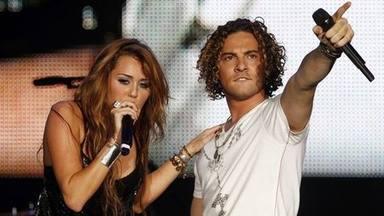 Miley y Bisbal