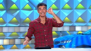 Jorge Fernández recibe un toque de atención de la dirección de 'La ruleta de la suerte' por irse de la lengua