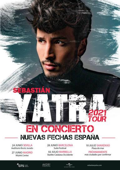 Sebastián Yatra retrasa su gira a 2021