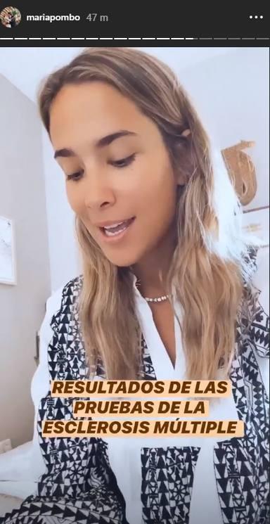 El desgarrador testimonio de María Pombo sobre la enfermedad que padece: Tengo esclerosis múltiple