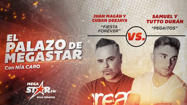 Cuban Deejays y Juan Magán cierran la semana con la juerga montada: 'Fiesta Forever' es El Palazo de MegaStar