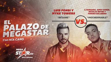 ¡Nuevo giro en El Palazo de MegaStar! Luis Fonsi y Myke Towers se coronan con 'Bésame'