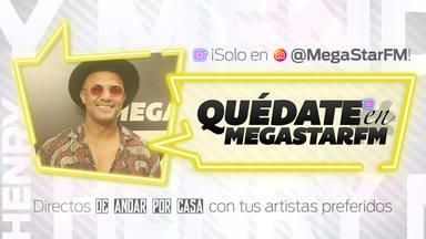 #QuédateEnMegastarFM: Henry Méndez nos devela su mayor deseo en esta cuarentena