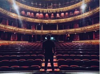 La inesperada bebida con la que Jorge Javier Vázquez celebró su éxito en el teatro