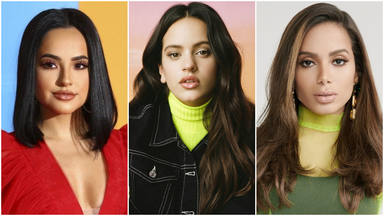 Una colaboración entre Rosalía, Anitta y Becky G podría estar en camino