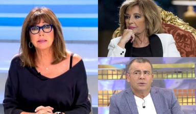 La última vuelta de tuerca en la guerra entre Jorge Javier y María Teresa Campos: Ana Rosa habla alto y claro