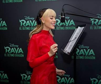 Danna Paola pondrá la voz a una película de Disney