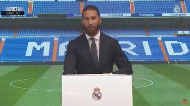 Las bonitas palabras de Sergio Ramos a Pilar Rubio tras su salida del Real Madrid