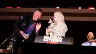 Colaboración estelar: Coldplay y Billie Eilish deslumbran sobre el escenario del Global Citizen 2021
