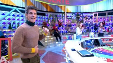 Jorge Fernández, muy serio, advierte a un concursante tras pillarle haciendo trampas: A mí no me engañas