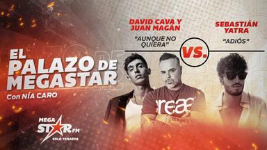 David Cava y Juan Magán empiezan la semana como El Palazo de MegaStar y les toca enfrentarse a Sebastián Yatra