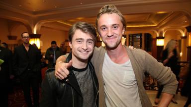 El guiño de Tom Felton a Daniel Radcliffe que despierta la rivalidad entre Gryffindor / Slytherin