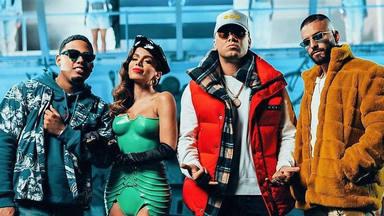 Wisin, Myke Towers, Maluma, Anitta y Los Legendarios revolucionan la música con 'Mi niña remix'