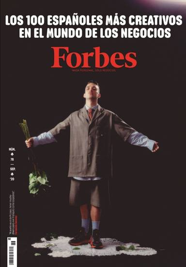 C. Tangana, protagonista de la portada de Forbes España