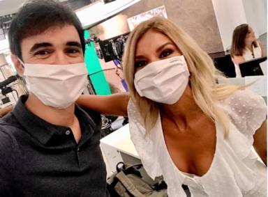 Sandra Golpe la lía con un mensaje sobre el coronavirus y la respuesta de un médico se convierte en viral