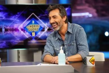 El dardo envenenado de Juan del Val a Nuria Roca en directo en El Hormiguero: Si no se queda dormida...