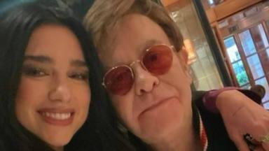 ¡Por fin! Dua Lipa y Elton John se han conocido en persona y han anunciado una actuación muy especial