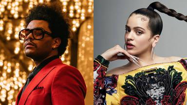 """The Weeknd cantará por primera vez """"Save Your Tears"""" en los AMAs… ¿con Rosalía?"""