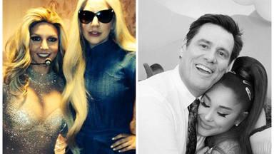 Desde Lady Gaga y Britney Spears a Ariana Grande y Jim Carrey ¿De quién son fans nuestros artistas favoritos?