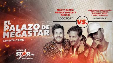 ¡Increíble! Nuevo giro en El Palazo de MegaStar: Mau y Ricky conquistan el trono con 'Doctor'