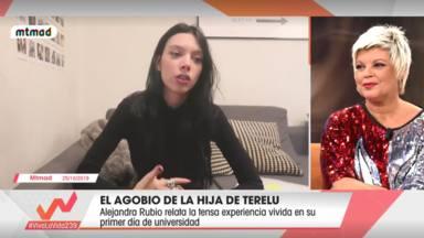 El mensaje velado de Jorge Javier Vázquez a Alejandra Rubio sobre su futuro en la televisión