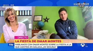 Omar Montes recibe el guiño de Susanna Griso que tanto esperaba: Si fuera con Omar...