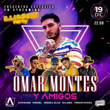Así puedes conseguir las entradas para el concierto virtual Iluminaty Party de Omar Montes