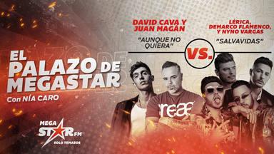 'Aunque No Quiera' de David Cava y Juan Magán se consolida en el podio de El Palazo de MegaStar por tercer día