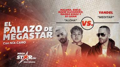 'Aloha' conquista el podio de El Palazo de MegaStar con Maluma y su 'dream team' al frente