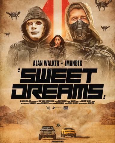 """""""Sweet Dreams"""" es el nuevo estreno del DJ Alan Walker junto con Imanbek"""