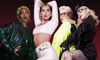 Dua Lipa celebra por todo lo alto su colaboración con Madonna, un remix de 'Levitating'