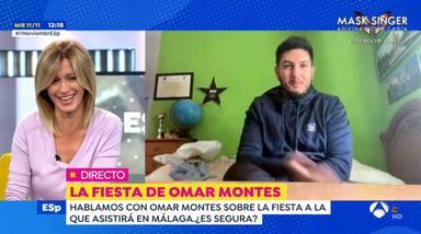 Susanna Griso, en shock después de que Omar Montes haya hablado sobre sus conversaciones íntimas